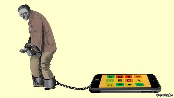 Závislost na mobilním telefonu